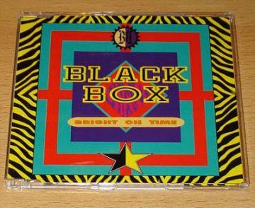Black Box - Bright On Time (CD Maxi Single)