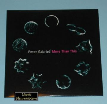Gabriel, Peter - More Than This (UK CD Maxi Single)