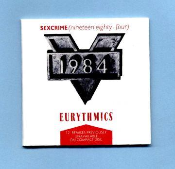 Eurythmics - Sexcrime (3 CD Maxi Single)