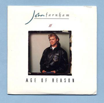 Farnham, John - Age Of Reason (AUS CD Picture Maxi)
