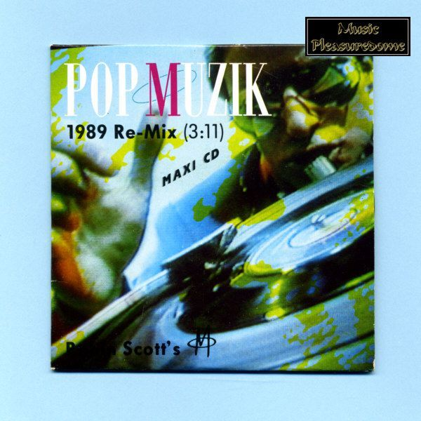 M. (Robin Scott) - Popmuzik (Remix CD Maxi Single)