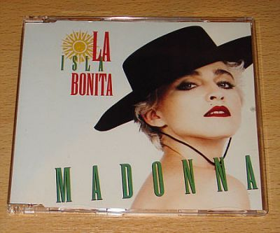 Madonna - La Isla Bonita (CD Maxi Single)