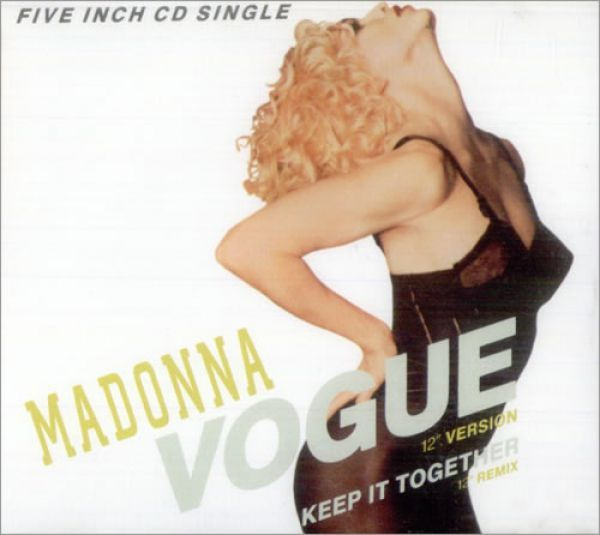 Madonna - Vogue (CD Maxi Single)