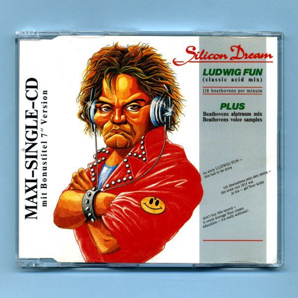 Silicon Dream - Ludwig Fun (CD Maxi Single)