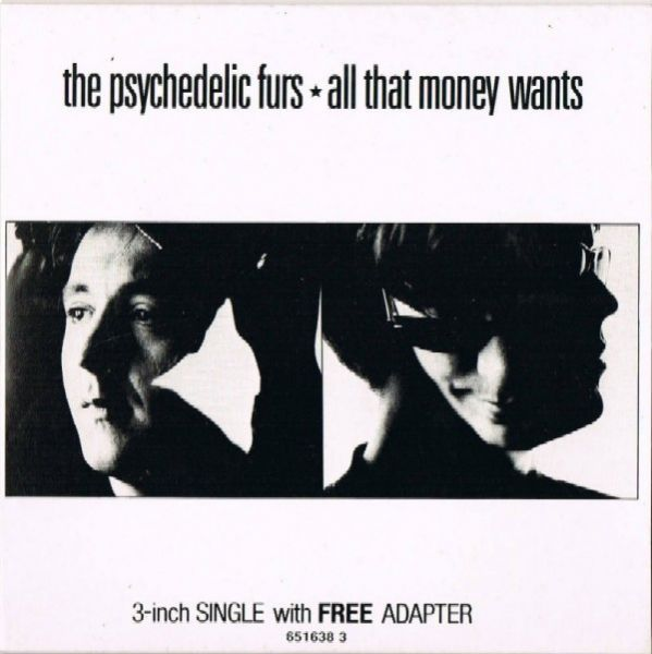 Psychedelic Furs - All That Money Wants (3 CD Maxi Single)