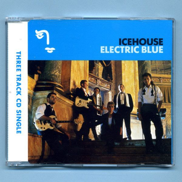 Icehouse (Iva Davies) - Electric Blue (UK CD Maxi Single)