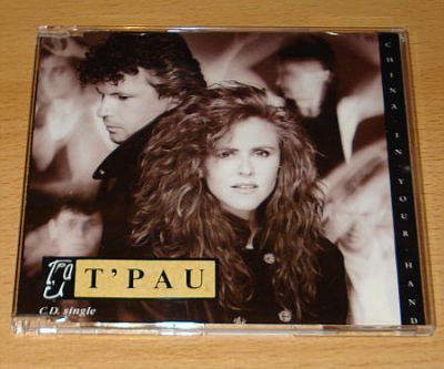 TPau - China In Your Hands (UK CD Maxi Single)