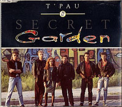 TPau - Secret Garden (UK CD Picture Maxi Single)