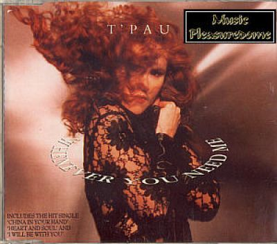 TPau - Whenever You Need Me (UK CD Maxi Single)