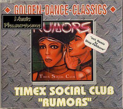 Timex Social Club - Rumors (CD Maxi Single)