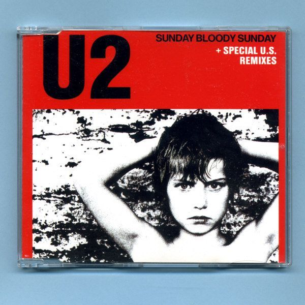 U2 - Sunday Bloody Sunday (CD Maxi Single) - Version 1