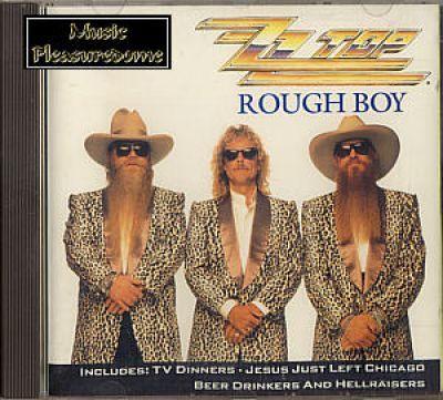 ZZ Top - Rough Boy (US CD Maxi Single)