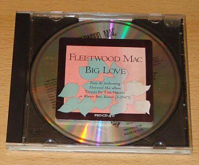 Fleetwood Mac - Big Love (US CD Single)