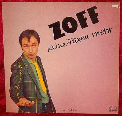 ZOFF - Keine Faxen mehr (Vinyl Album)