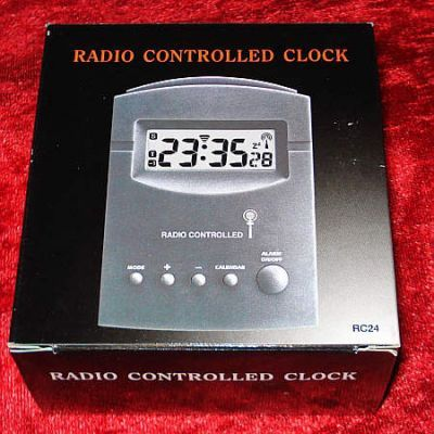 Music-Pleasuredome Radio Controlled Clock