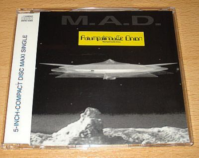 M.A.D. - Raumpatrouille Orion (CD Maxi Single)
