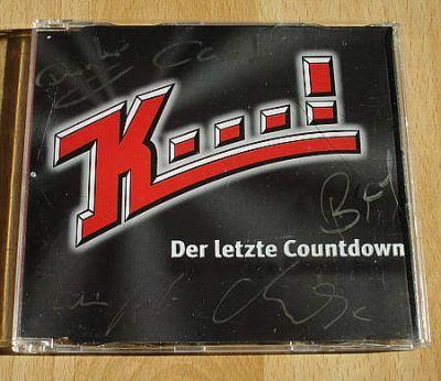 Karat / K...! - Der letzte Countdown (CD Maxi Single) - signiert