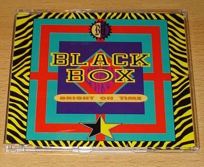 Black Box - Bright On Time (CD Maxi Single)