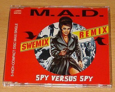 M.A.D. - Spy vs. Spy (5 Remix CD Maxi Single)