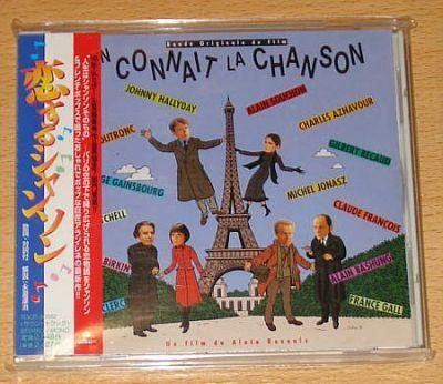 On connait la Chanson (Japan CD Sampler + OBI) - O.S.T.