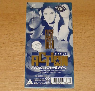 Gipsy & Queen - Action (Japan 3 CD Maxi Single)