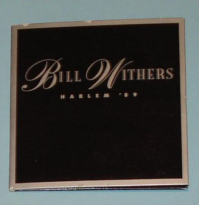Withers, Bill - Harlem 89 (3 CD Maxi Single)