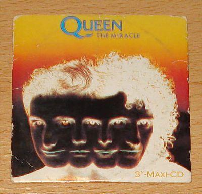Queen - The Miracle (3 CD Maxi Single) - Sonderangebot