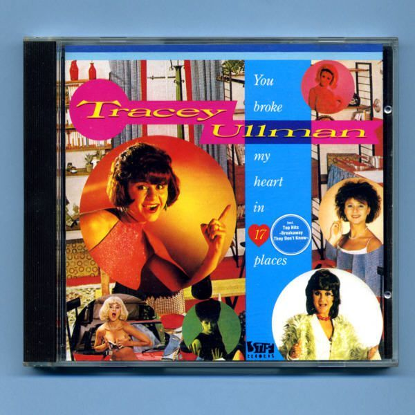 Ullman, Tracey - You Broke My Heart In 17 Places (CD Album)