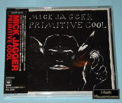 Jagger, Mick (Rolling Stones) - Primitive Cool (Japan CD Album)