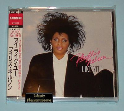 Nelson, Phyllis - I Like You (Japan CD Album + OBI)