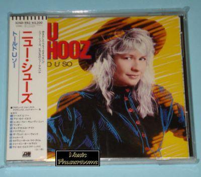 Nu Shooz - Told U So (Japan CD Album + OBI)
