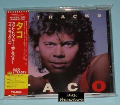Taco - 4 Tracks (Japan CD Mini Album + OBI)