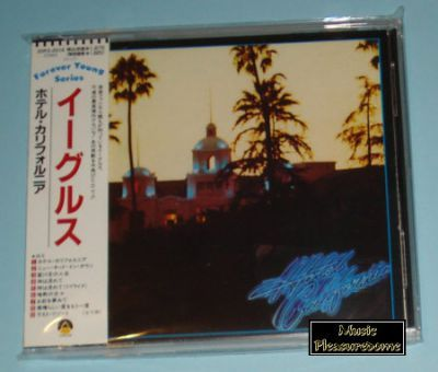 Eagles - Hotel California (Japan CD Album + OBI)