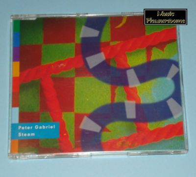 Gabriel, Peter - Steam (UK CD Maxi Single)
