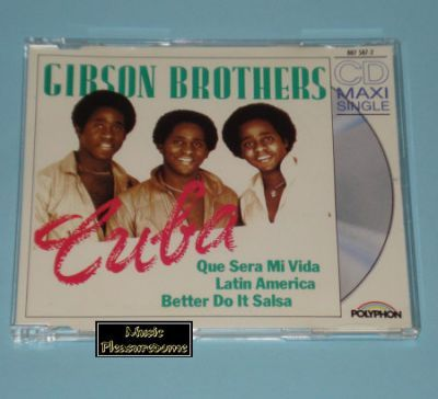 Gibson Brothers - Cuba (CD Maxi Single) - Slimcase