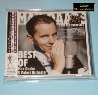 Raabe, Max & Palast Orchester - Best Of (Japan CD Album + OBI)