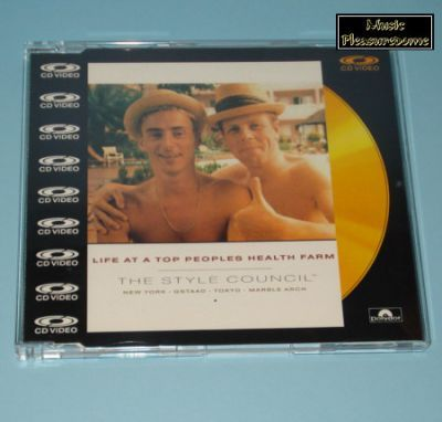 Style Council, The - Life At A Top  Peoples ... (CD Video Maxi)