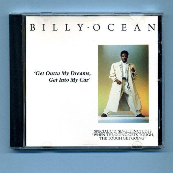Ocean, Billy - Get Outta My Dreams... (UK CD Maxi Single) EX