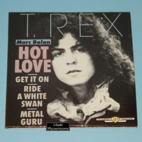 T. Rex / Marc Bolan - Hot Love (3 CD Maxi Single)