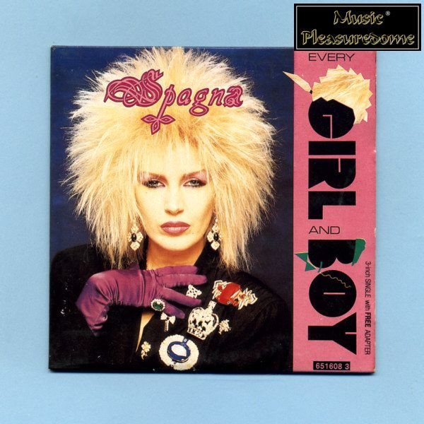 Spagna - Every Girl And Boy (3 CD Maxi Single)