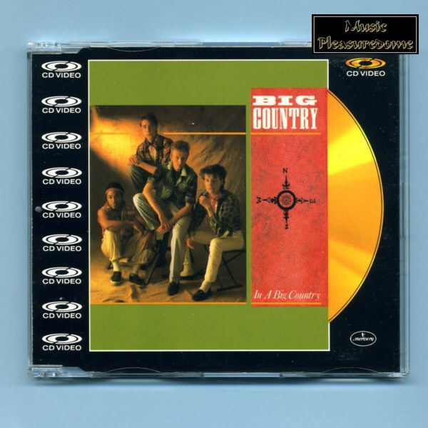 Big Country - In A Big Country (CD Video Maxi)