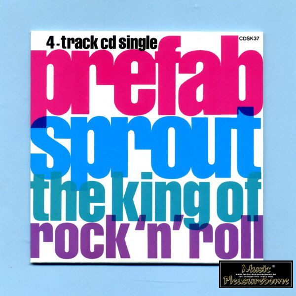 Prefab Sprout - The King Of Rockn Roll (CD Maxi Single)