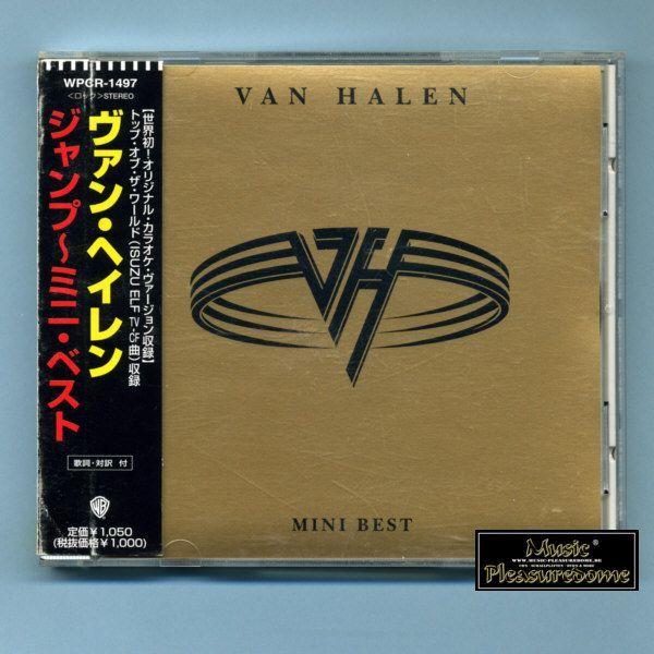 Van Halen - Mini Best (Japan CD Mini-Album + OBI)