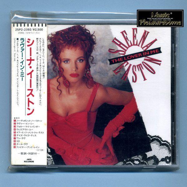 Easton, Sheena - The Lover In Me (Japan CD Album + OBI)