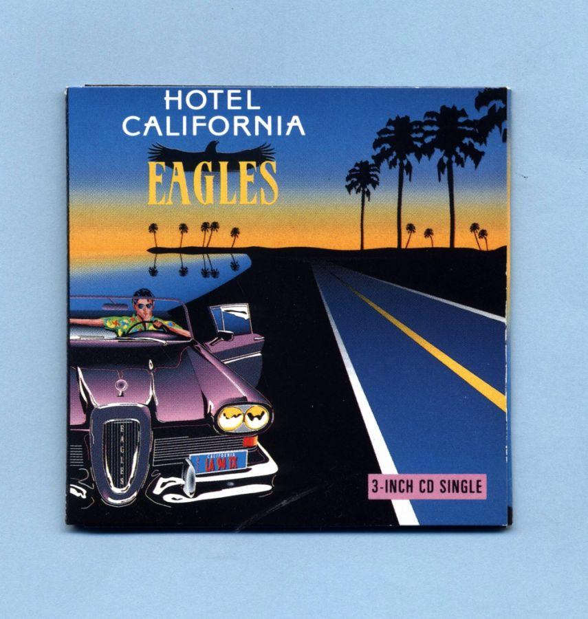 Eagles - Hotel California (3 CD Maxi Single) - FRANCE