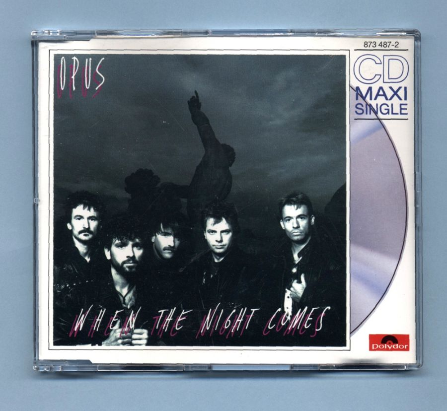 Opus - When The Night Comes (CD Maxi Single)