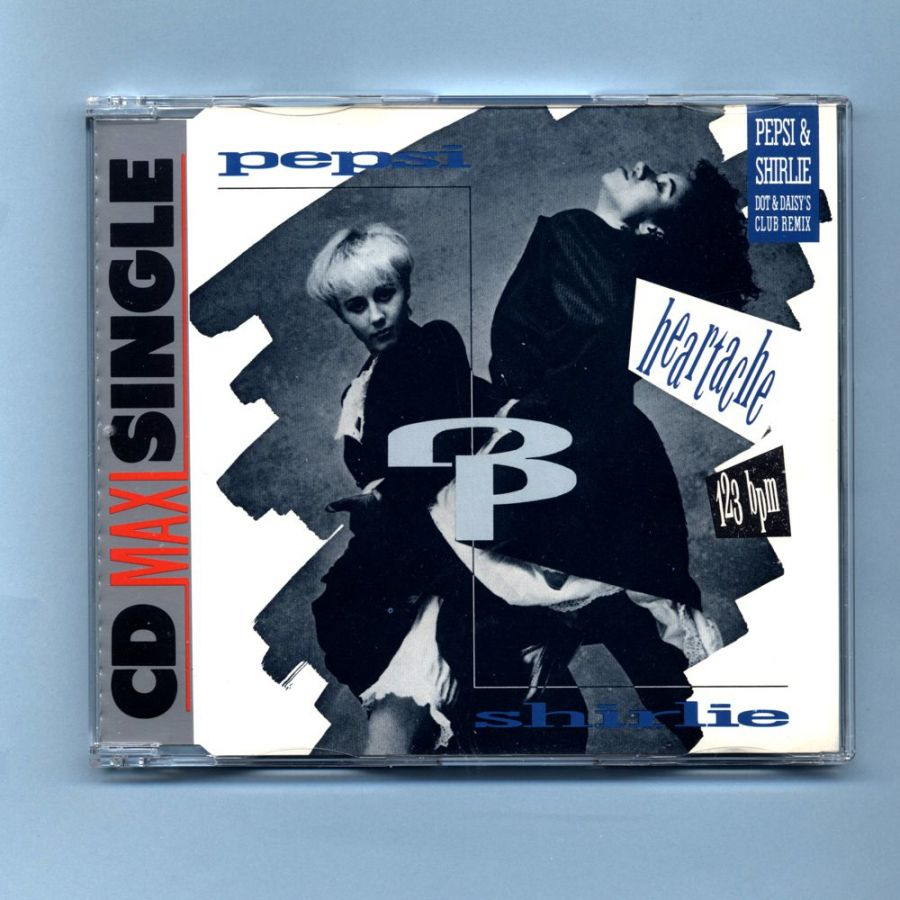 Pepsi & Shirlie (PWL) - Goodbye Stranger (CD Maxi Single)
