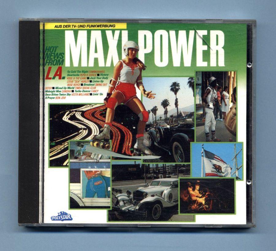 Maxi Power - Hot News From L.A. (CD Sampler)