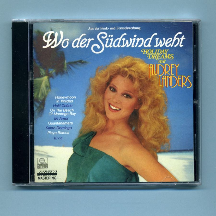 Landers, Audrey - Wo der Südwind weht (Japan CD Album)