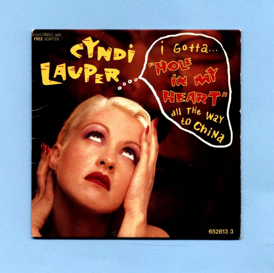 Lauper, Cyndi - Hole In My Heart (3 CD Maxi Single)